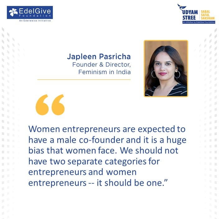 Japleen Pasricha Founder and Director, Feminism in India