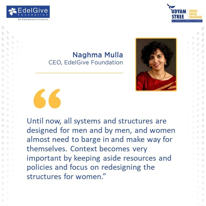 Naghma Mulla, CEO, EdelGive Foundation