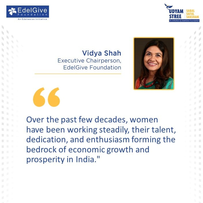 Vidya Shah, Executive Chairperson, EdelGive Foundation