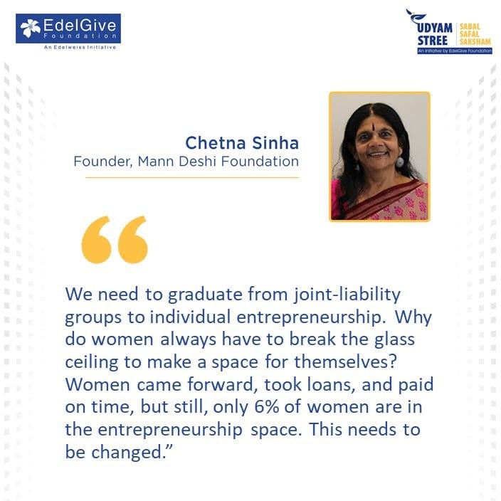 chetna sinha Founder Mann Deshi Foundation